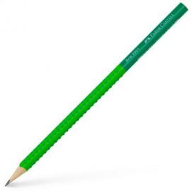 Μολύβι Faber Castell Grip Δίχρωμο Λαχανί-Πράσινο