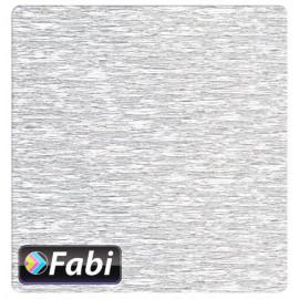 Γκοφρέ Fabi 50x200εκ Μεταλλικό Ασημί