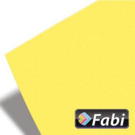 Κολάζ Χαρτόνι Fabi 50x70εκ 220γρ Νο102 Κίτρινο Απαλό