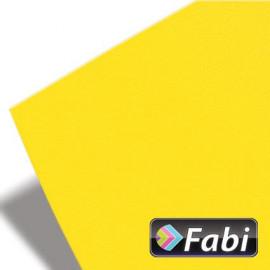 Κολάζ Χαρτόνι Fabi 50x70εκ 220γρ Νο101 Κίτρινο Έντονο