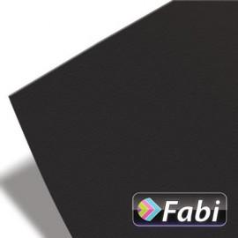 Κολάζ Χαρτόνι Fabi 50x70εκ 220γρ Νο114 μαυρο