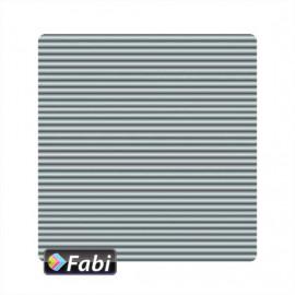Οντουλέ Fabi 50x70εκ 230γρ Ασημί Ματ 189