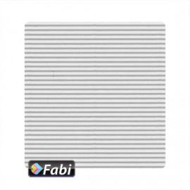 Οντουλέ Fabi 50x70εκ 230γρ Άσπρο 100