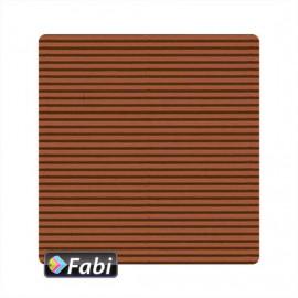 Οντουλέ Fabi 50x70εκ 230γρ Καφέ 172