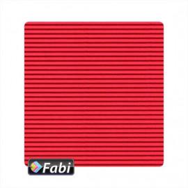 Οντουλέ Fabi 50x70εκ 230γρ Κόκκινο 122